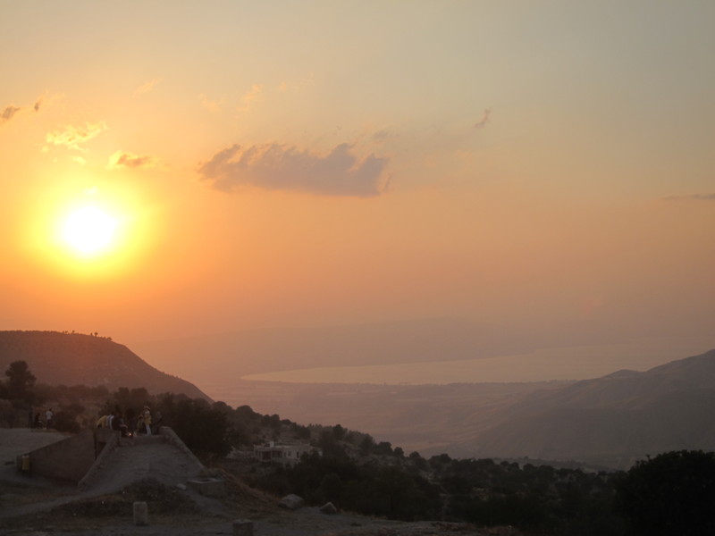 Sunset at Umm Qais