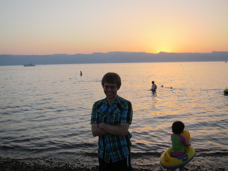 Me on the Beach at Aqaba