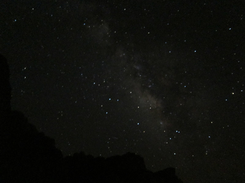 Night sky at Wadi Ram